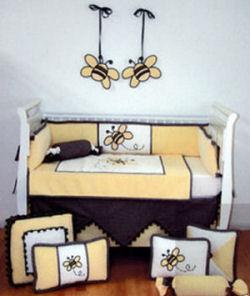 bee-baby-bedding