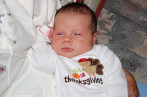 Her first Thanksgiving